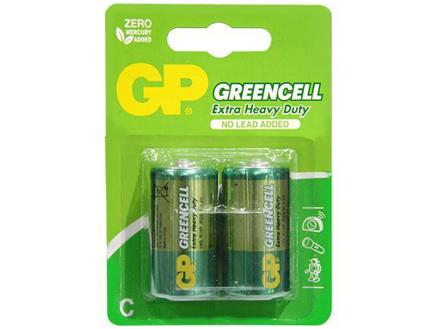 图片 GP Batteries Greencell - C 2 pcs.
