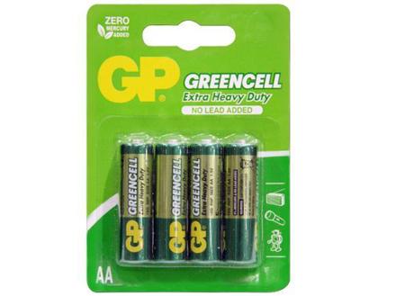 图片 GP Batteries Greencell - AA 4 pcs.