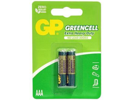 图片 GP Batteries Greencell - AAA 2 pcs.