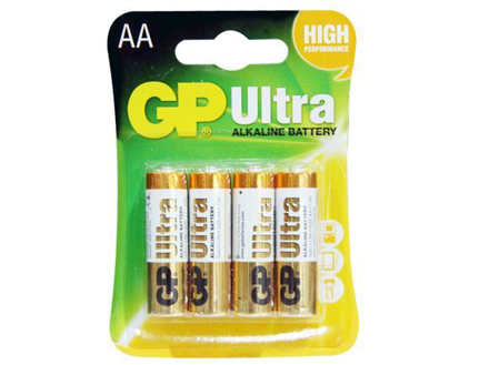 图片 GP Batteries Ultra Alkaline - AA 4 pcs.