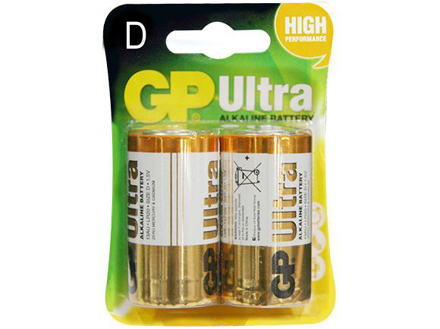 图片 GP Batteries Ultra Alkaline - D 2 pcs.