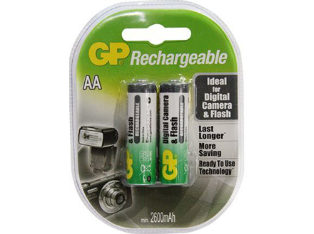 图片 GP Batteries APC Rechargeable - AA 2 pcs. 2600mAh