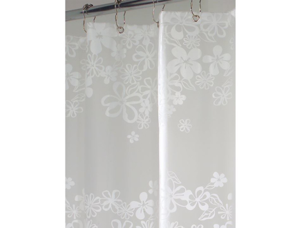 圖片 Interdesign Eva Series - Shower Curtain Fiore White