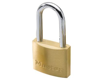 圖片 Master Lock 40MM Long Shackle Brass Padlock, MSP1902DLF