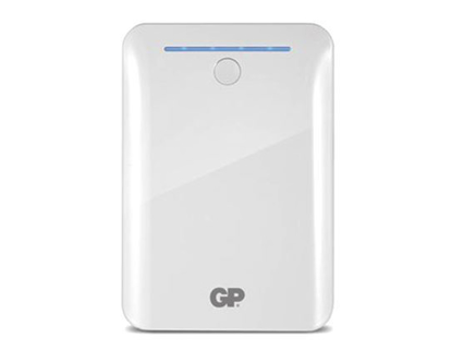 Picture of GP Batteries DC POWER BANK PORTABLE 10400MAH WHITE