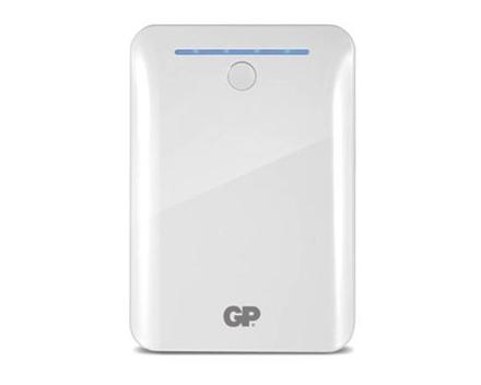 图片 GP Batteries DC POWER BANK PORTABLE 10400MAH WHITE