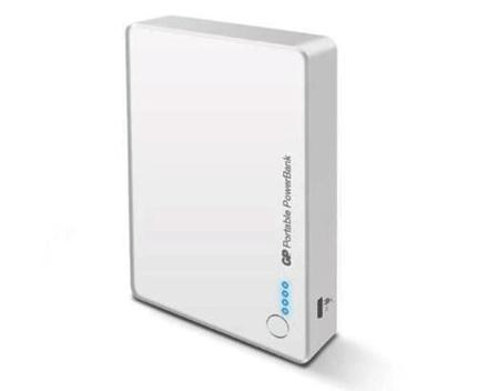 图片 GP Batteries DC POWER BANK PORTABLE GP382 WHITE