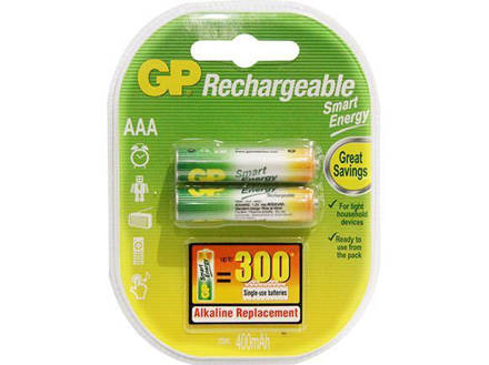 图片 GP Batteries Smart Energy Rechargeable - AAA 2 pcs.