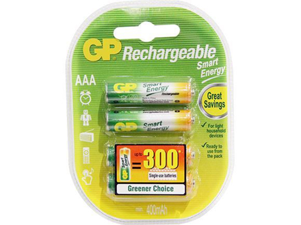 图片 GP Batteries Smart Energy Rechargeable - AAA 4 pcs.