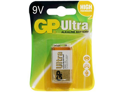 Picture of GP Batteries Ultra Alkaline - 9v 1 pc.