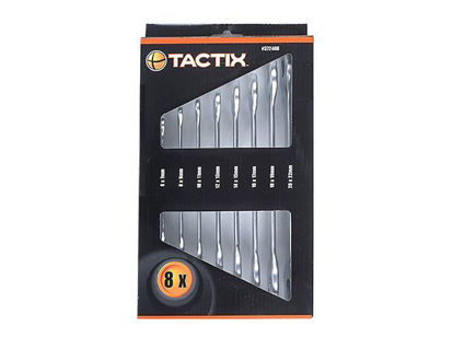 Picture of Tactix Double Open Wrench Set 8 pcs.