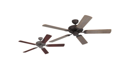 """圖片 Westinghouse Ceiling fan Contractor's Choice, 5-blade 52"""" Old Chicago"""