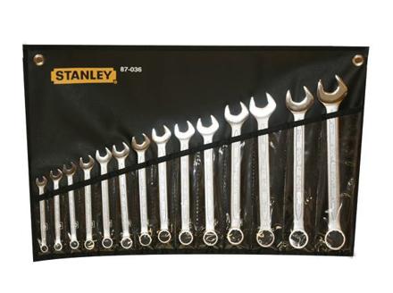 图片 Stanley Slimline Combination Wrench Set 14PCS.   ST87036