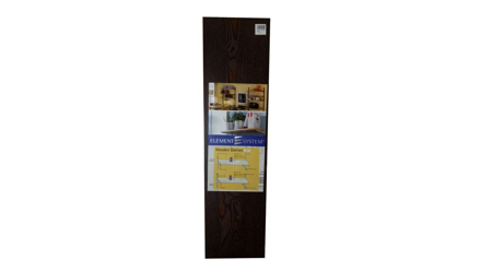 圖片 Element System Wooden Shelving 800mm X 200mm - Ebony