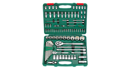 """Picture of Hans 88 Pcs. Universal Tool Kit 1/4 """" , 1/2 """" DR"""