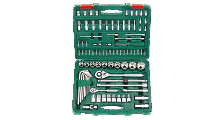 """图片 Hans 88 Pcs. Universal Tool Kit 1/4 """" , 1/2 """" DR"""