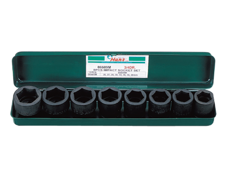 圖片 Hans 8 Pcs. Impact Socket Set - Metric Size