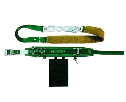 圖片 Adela Linemans Safety Belt with Webbing Lanyard Medium Hook (H-117)