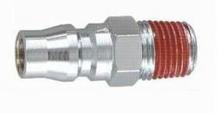"图片 THB 1/4"" Zinc Quick Coupler Plug - Male End"