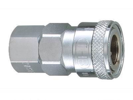 "图片 THB 1/4"" Zinc Quick Coupler Body - Female End"