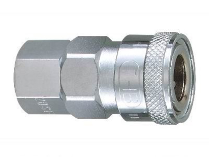 "Picture of THB 1/2"" Steel Quick Coupler Body - Female End"