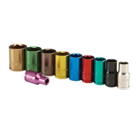 图片 Lotus Colorful Socket 10 Pcs. 12 Pts. - LSW010