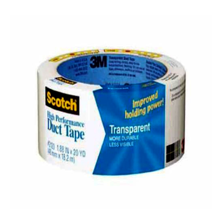 圖片 3M Duct Tape Transparent 20YD