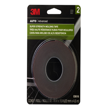 圖片 3M Molding Tape Super Strength - 15 ft.