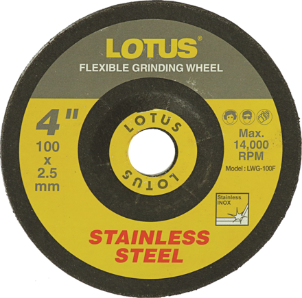 图片 Lotus LWG100F Grinding Wheel