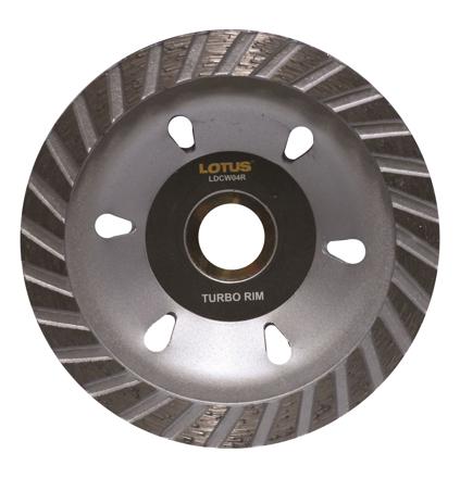 圖片 Lotus LDCW04R Diamond Cup Wheel (Rim)