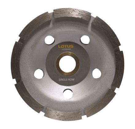 圖片 Lotus LDCW04SR Diamond Cup Wheel (Single)