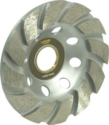 圖片 Lotus LDCW04W Diamond Cup Wheel (Wave)