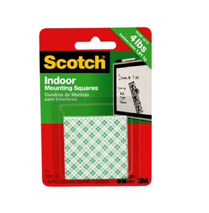 圖片 3M SCOTCH INDOOR MOUNTING SQUARES