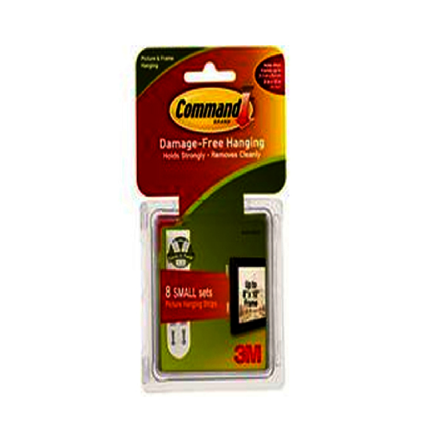 Picture of 3M Command Picture Hanging Strips Small