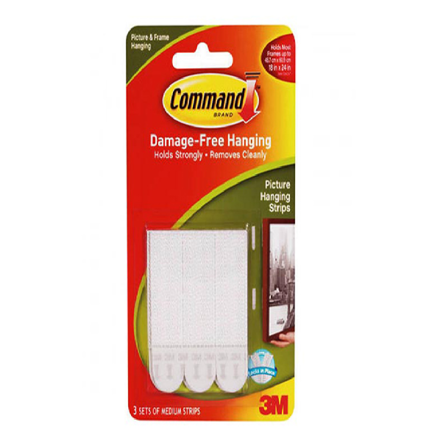 Picture of 3M Command Picture Hanging Strips Medium