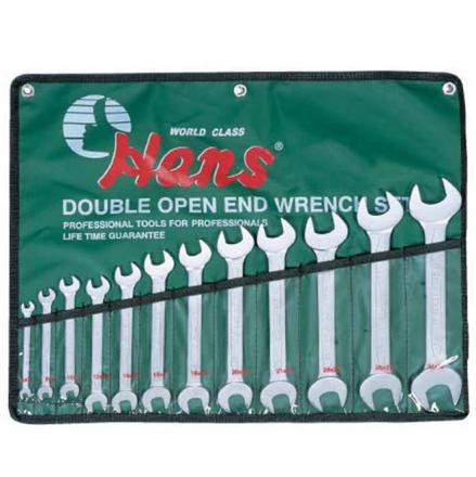 圖片 Hans 16512M Open Wrench Set