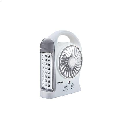 """图片 Firefly 24 LED Multi-function with 5"""" 2-Speed Fan FEL614"""