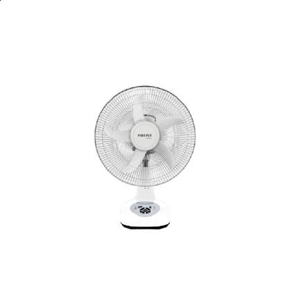 """图片 Firefly 14"""" Oscillating Multi-speed Fan with USB Mobile Phone Charger& 4 LED Night Light FEL618"""