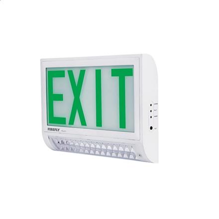 图片 Firefly Double Emergency Back Up Exit Light with LED Emergency Light FEL231