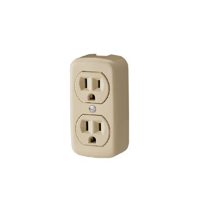 图片 Firefly 2 Gang 2-Pin Convenience Outlet FEDOU203