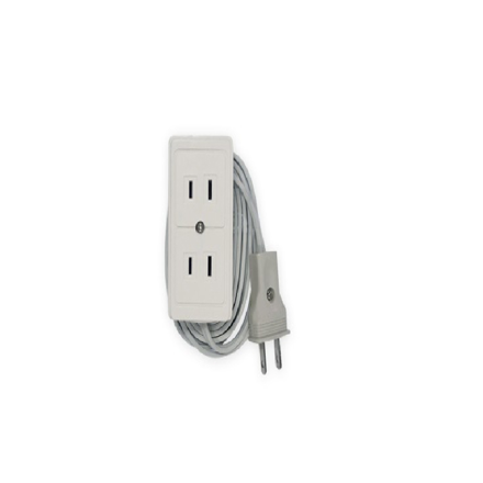 图片 Firefly 2 Gang 2-Pin Convenience Outlet ECSFO402