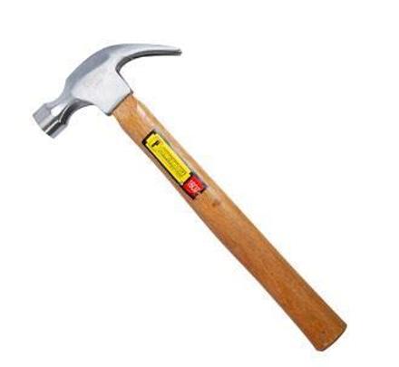 圖片 Powerhouse Wooden Claw Hammer 16 Oz