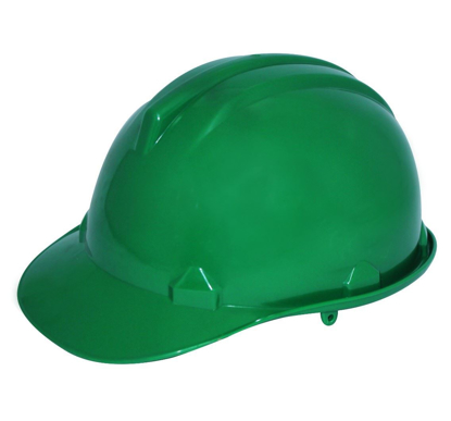Picture of Powerhouse Abs Plastic Safety Helmet H.D Green