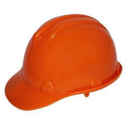 Picture of Powerhouse Abs Plastic Safety Helmet H.D Orange