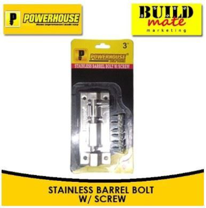 Picture of Powerhouse Stainless Barrel Bolt