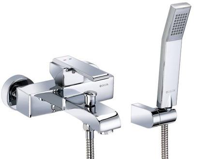 圖片 Delta On Wall Tub & Shower, W/S360 Handshower 26050