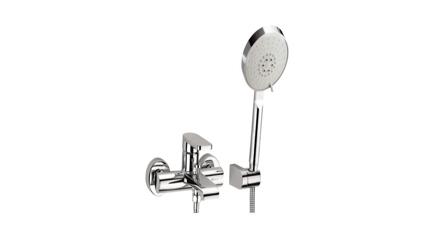 圖片 Delta On-wall Tub & Shower, W/3F Showerhead 26550