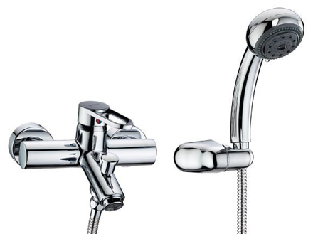 圖片 Delta On-wall Tub & Shower, W/S650-CH Handshower 25250