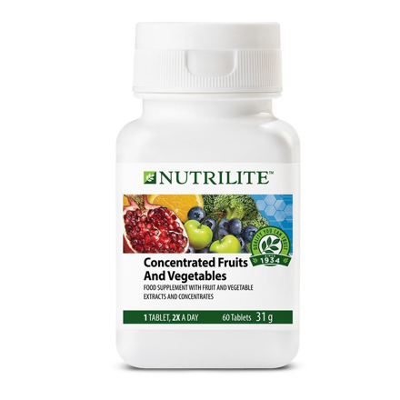 圖片 Nutrilite Concentrated Fruits And Vegetables Tablet