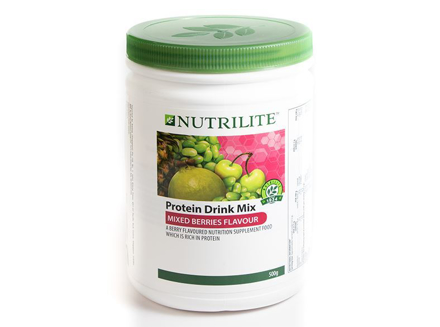 圖片 Nutrilite Protein Mix Berries Flavor Drink Mix